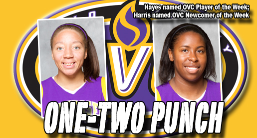Harris and Hayes net OVC honors