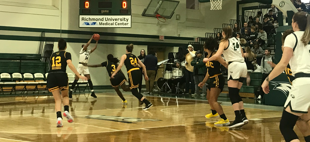 Women's Basketball Falls on the Road to Wagner, 67-60