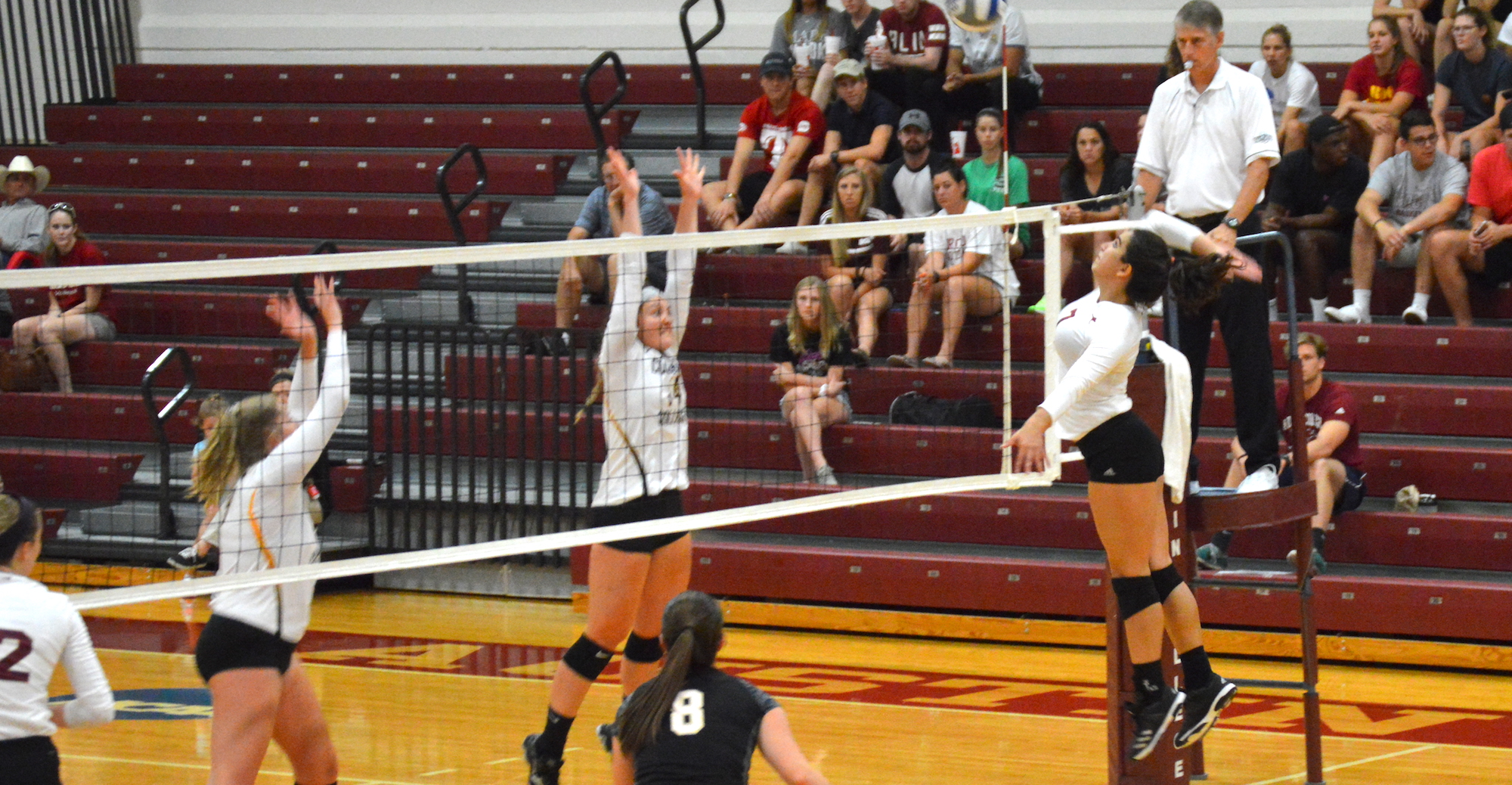 'Roo Volleyball Splits on Day One of SCAC Divisional