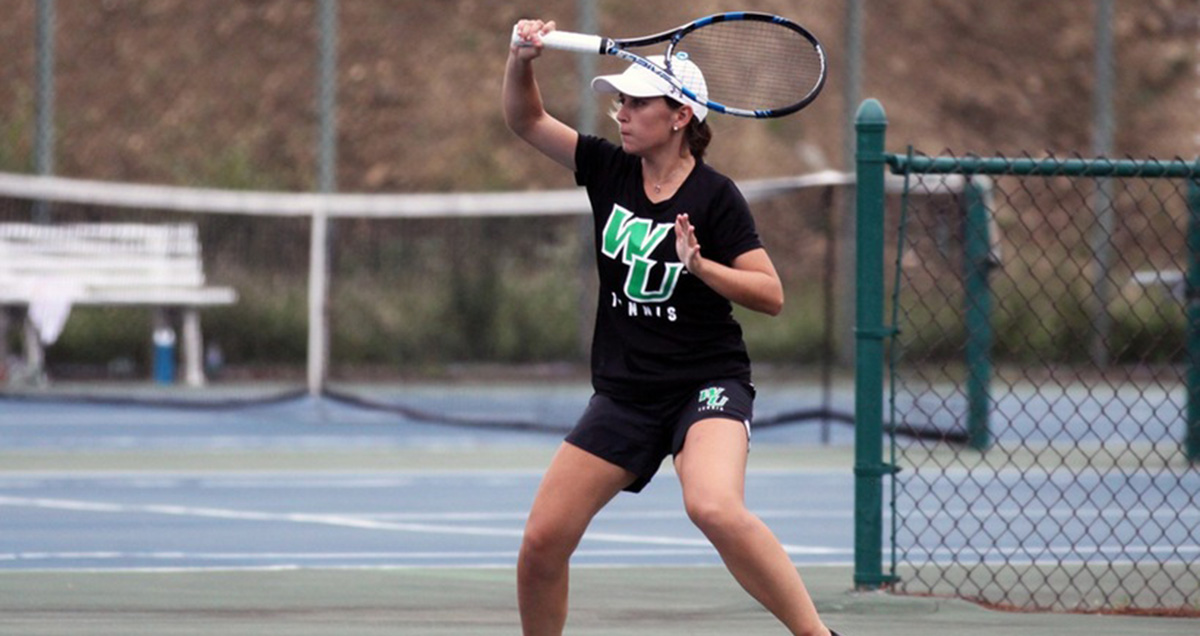 Comeback Falls Short in First NCAA Women's Tennis Match, as NYIT Hangs on Against WilmU, 4-2