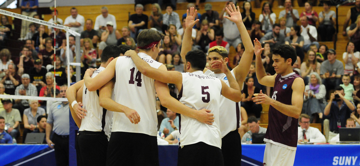 Men's Volleyball Sweeps Stevens To Advance to NCAA Division III Championship