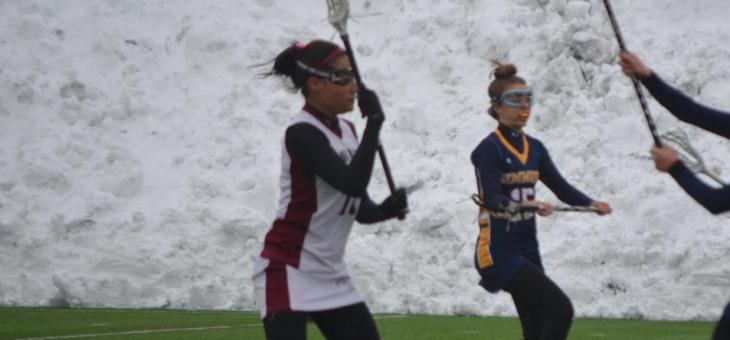 Lady AMCATS Downed by Blazers in Women's Lacrosse