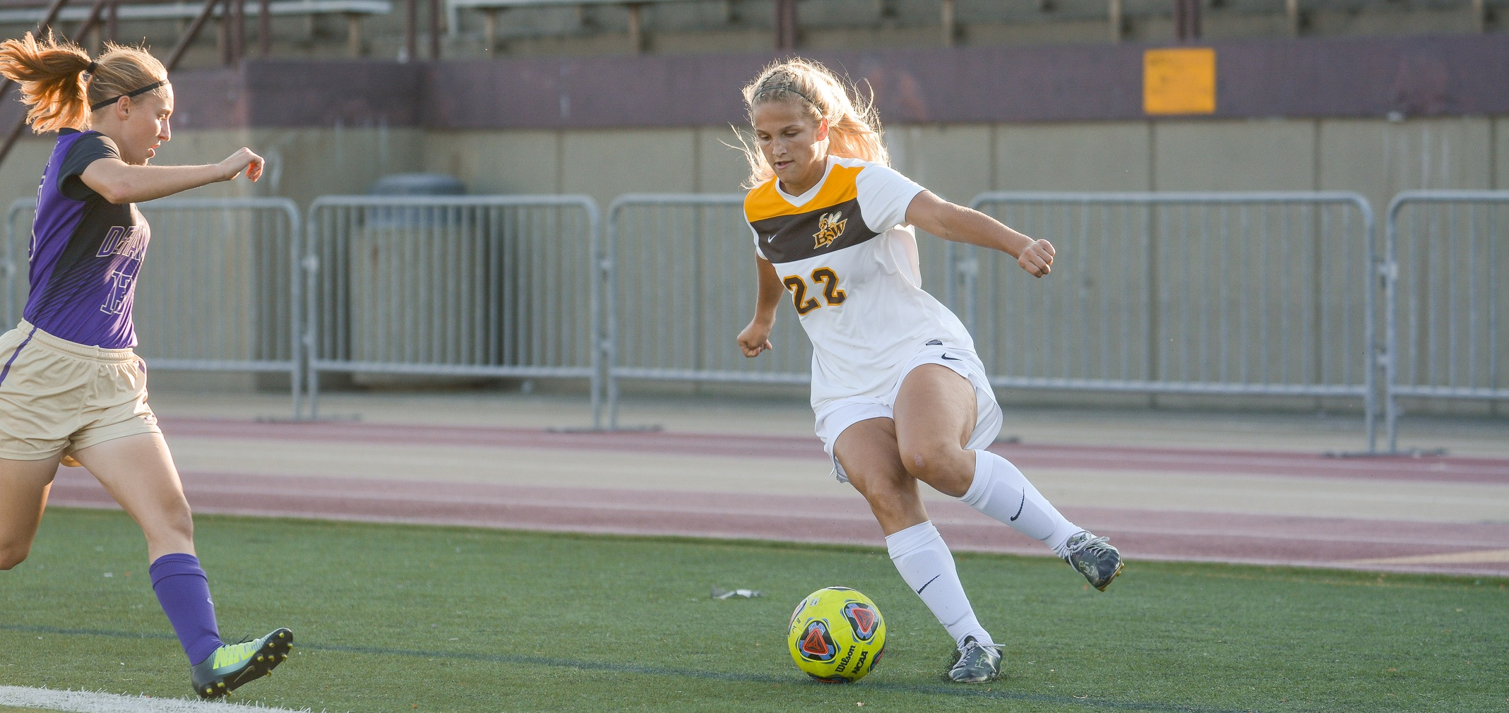 Freshman forward Olivia Muldoon (Photo by William Lekan)