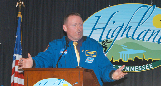 Astronaut, former Golden Eagle Barry Wilmore speaker for Chamber