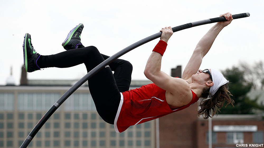 Gamber Vaults Well at Bucknell Outdoor Classic