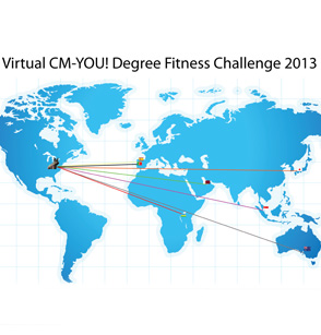 "Fitness Challenge 2013 ""Virtual CM-YOU! Degree"""