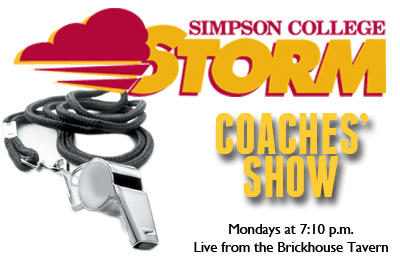 Simpson Storm Coaches' Show airs tonight