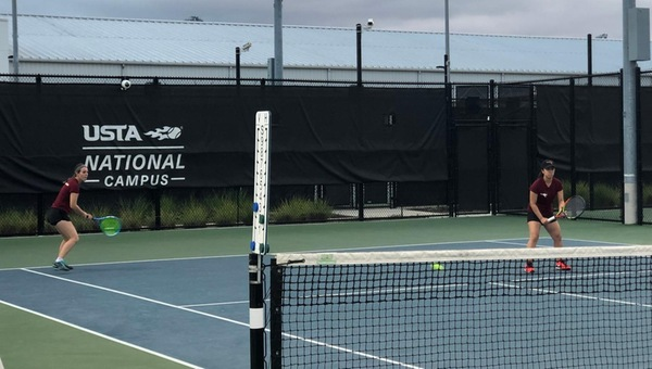 Women's Tennis Unblemished Through Two on Day 1 of Spring Break