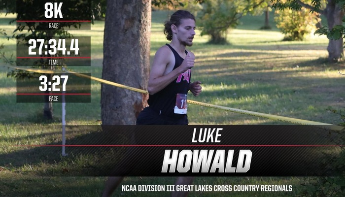 Men's Cross Country competes in the NCAA Regional Championships
