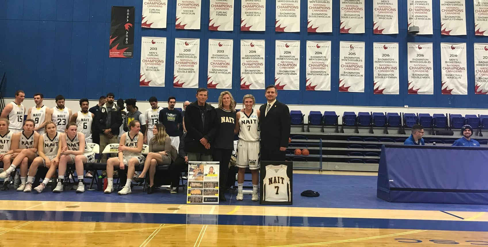 Ooks Fall To Rustlers On Senior Night