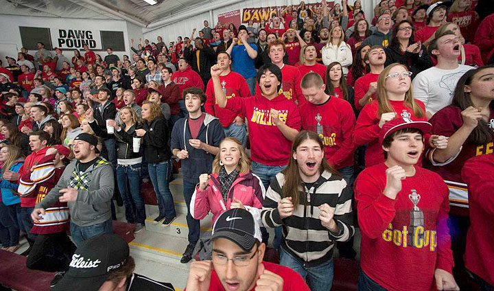 CCHA Announces Super Fan Contest Winners From Each School