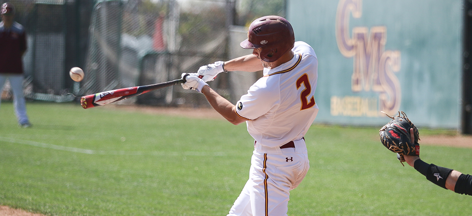Henri Levenson collected four hits in Game One of Saturday's doubleheader. (photo credit: Alisha Alexander)