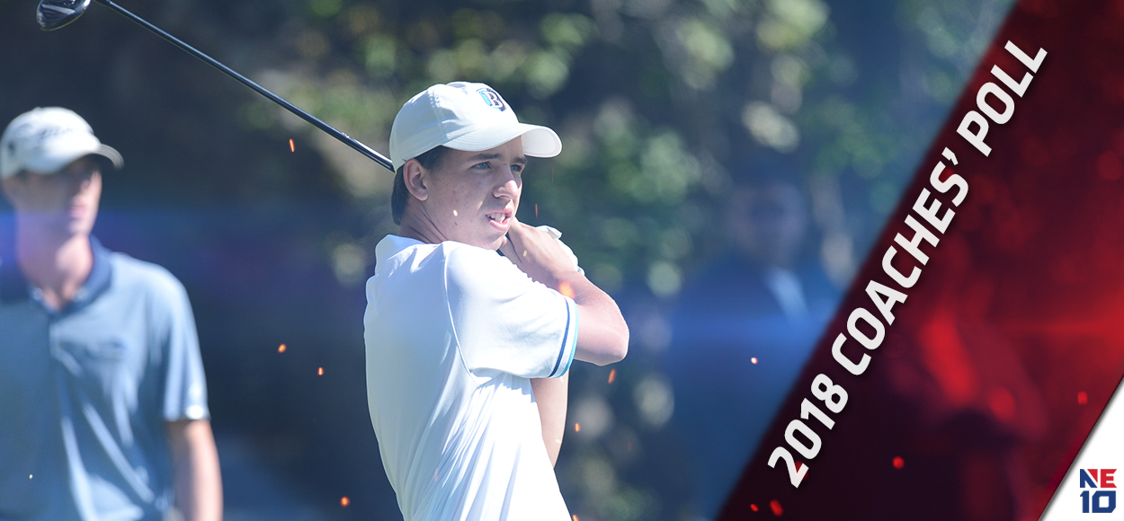 Bentley Chosen to Repeat as NE10 Men's Golf Champion