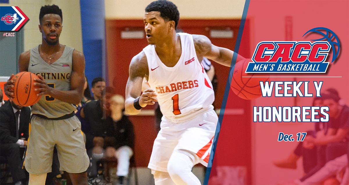 CACC Men's Basketball Weekly Honorees (Dec. 17)
