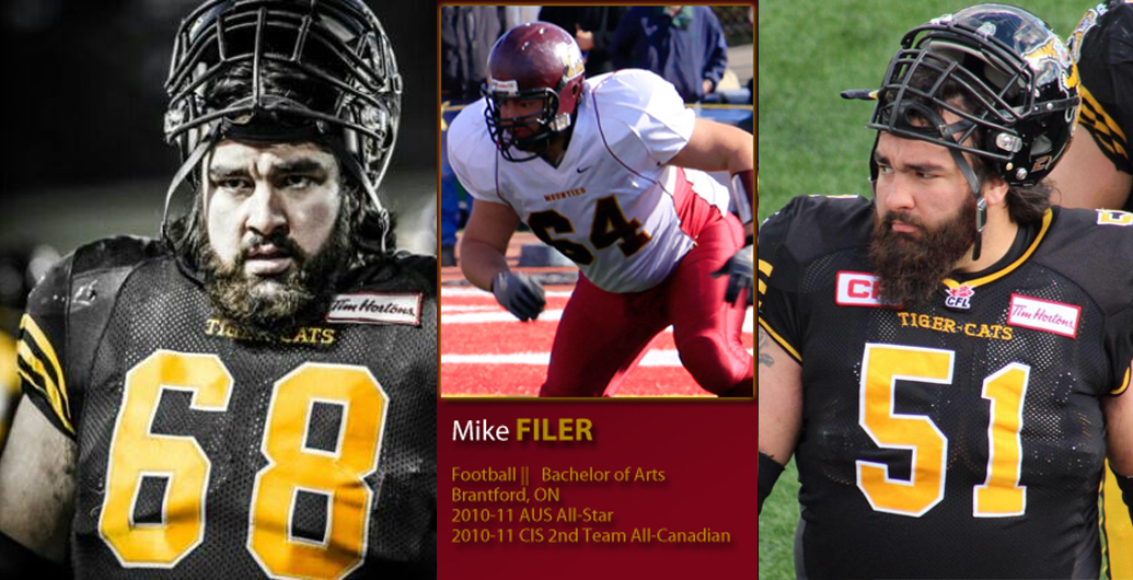 Former football Mountie Mike Filer travels to Europe with teammates
