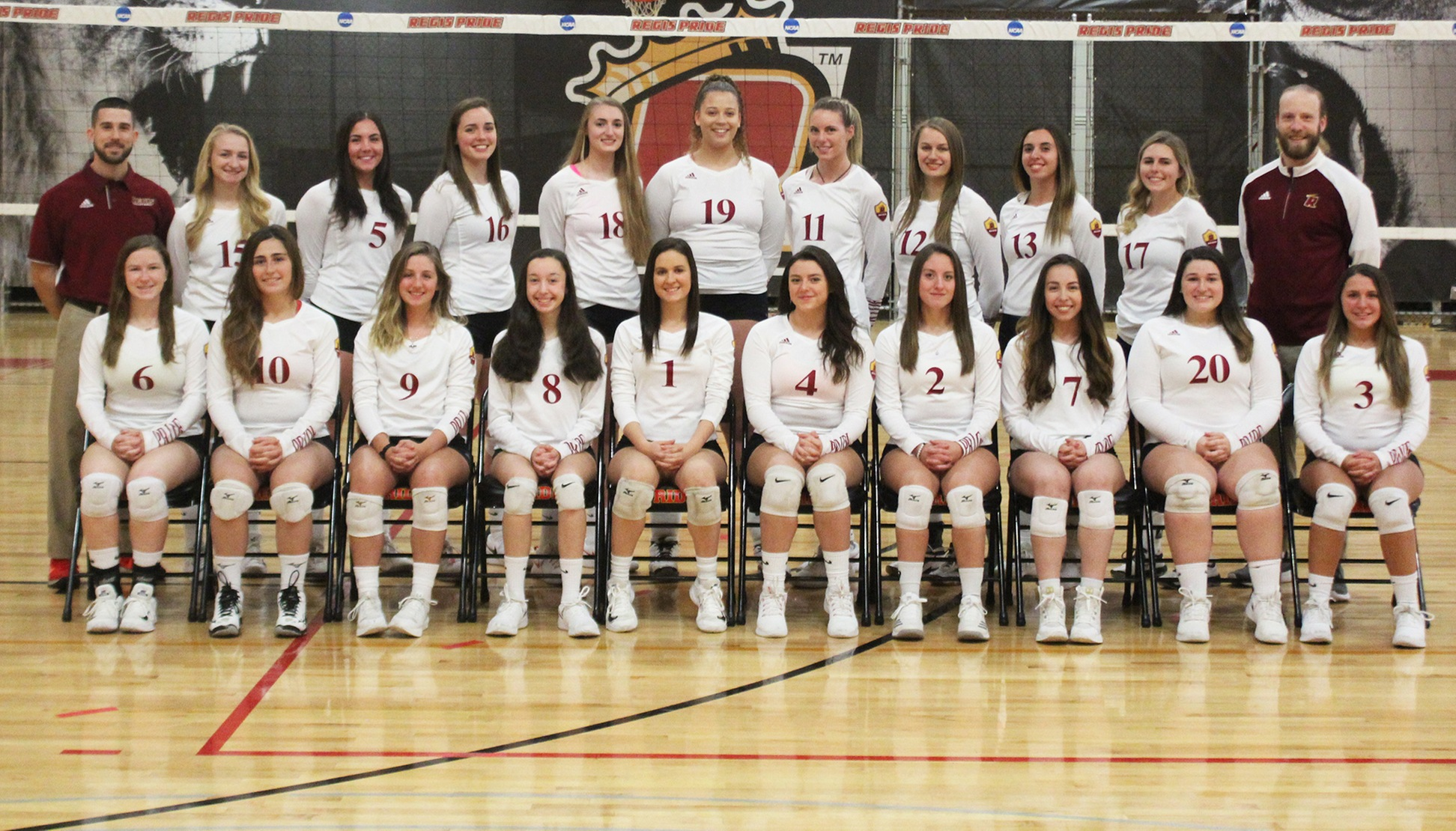 2018 Regis Women's Volleyball: Never Giving Up