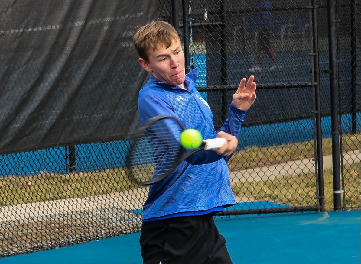 Tennis Squads Set for Two Matches this Weekend