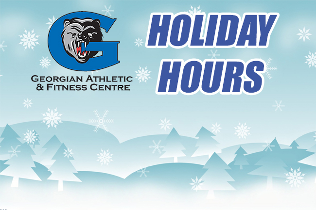 FITNESS CENTRE HOLIDAY HOURS