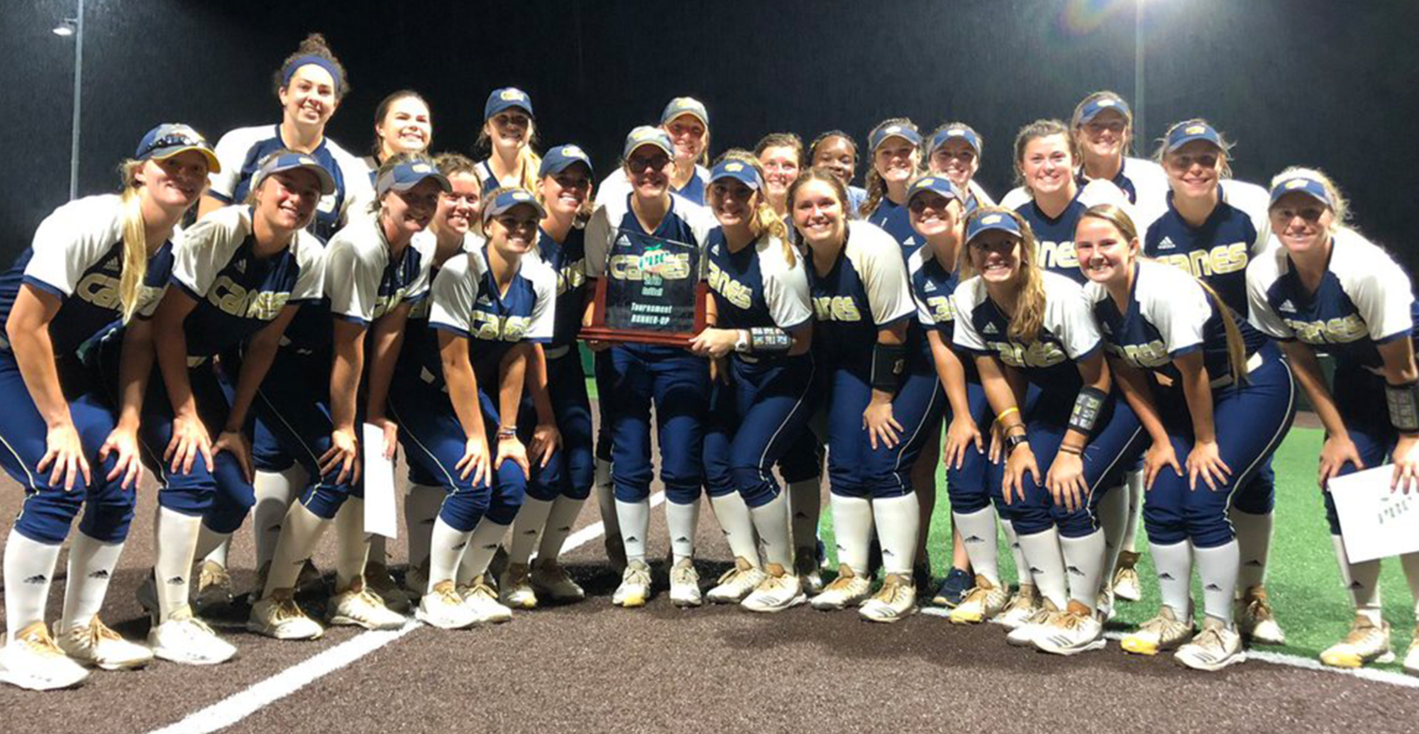 Lady Canes Finish Runner-Up At PBC Tournament