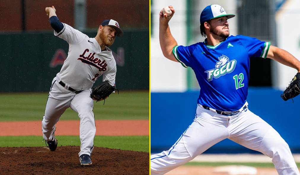 FGCU's Studstill, Liberty's McInvale Named to National Pitcher of The Year Watch List