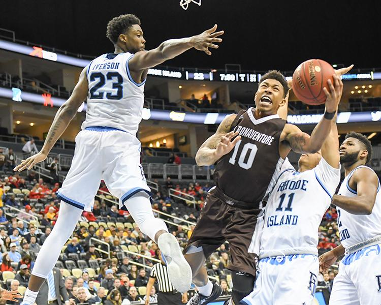 Fierce A-10 Test Awaits Bonnies Saturday Morning At Rhode Island