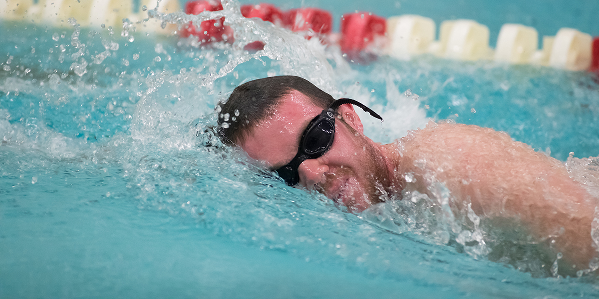 Men's Swimming & Diving Sweeps Double-Dual against Gordon and Saint Joseph's (Maine)