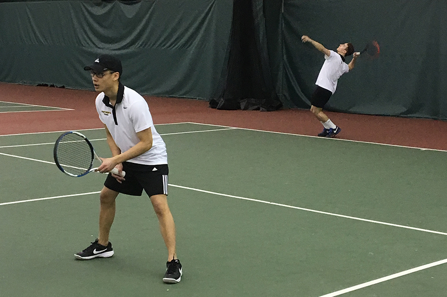 Men's Tennis Opens Spring Season With Win Over Salem State