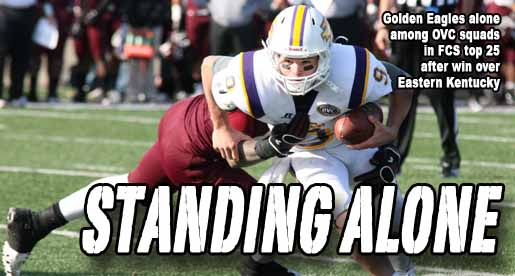 Golden Eagles pull rank in both FCS polls after EKU victory