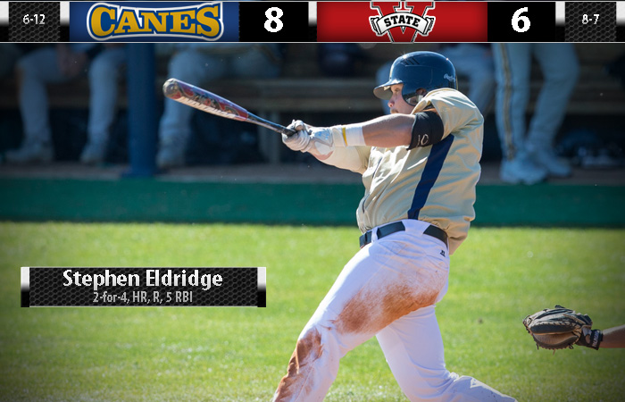 Eldridge Blast Burns Blazers