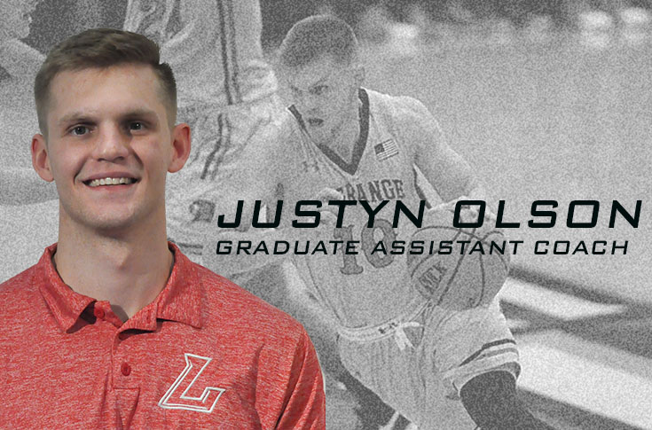 Men's Basketball: Former LC player Justyn Olson new graduate assistant coach