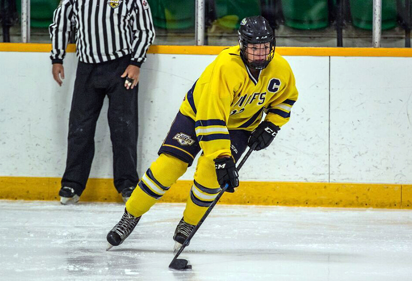 Yellowhead Chiefs captain Rylee Gluska is leading the Manitoba Female Midget Hockey League in scoring with 37 points in 27 games so far this season.