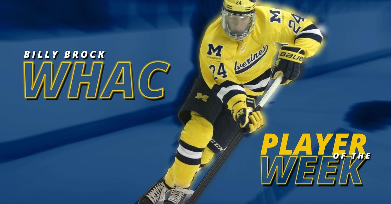 Brock named WHAC Player of the Week