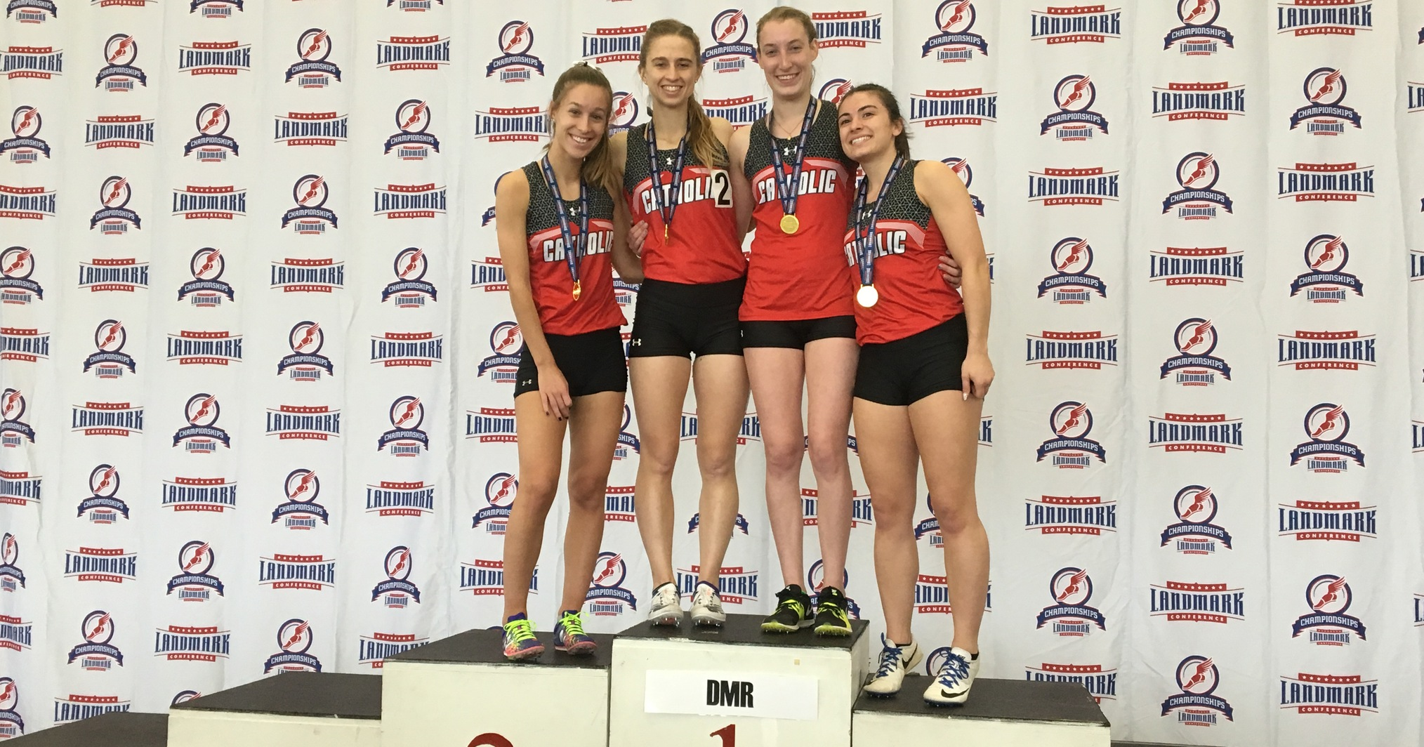 Cardinals Place Fourth at Landmark Indoor Championships