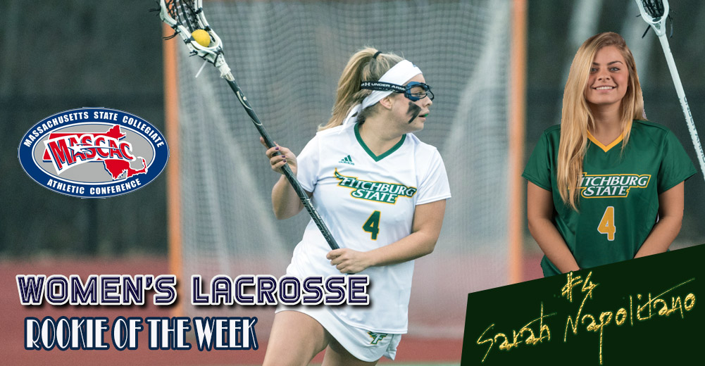 Napolitano Earns MASCAC Women's Lacrosse Rookie Of The Week Honors