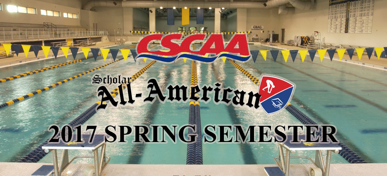 Seahawk Women's Swimming Top 10 among CSCAA Scholar All-America Teams