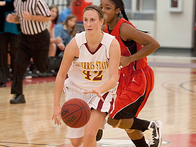 Junior guard Tricia Principe led the Bulldogs in the win over Virginia Union