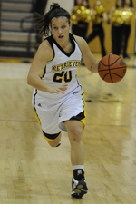 Michelle Kurowski matched her career high with 30 points against Binghamton.
