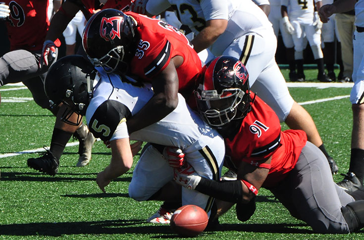 Football: Big first half sends Ferrum past Panthers at Homecoming 2016
