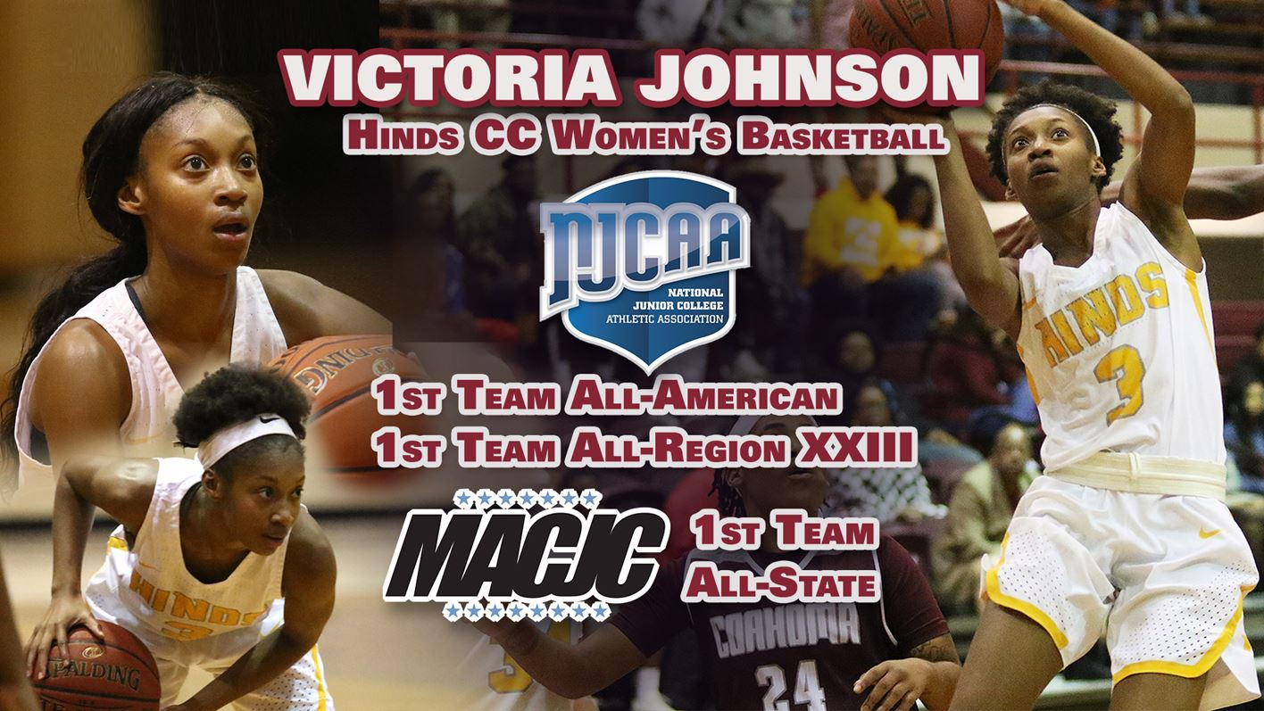 Hinds Women's Basketball: Victoria Johnson named NJCAA First Team All-American