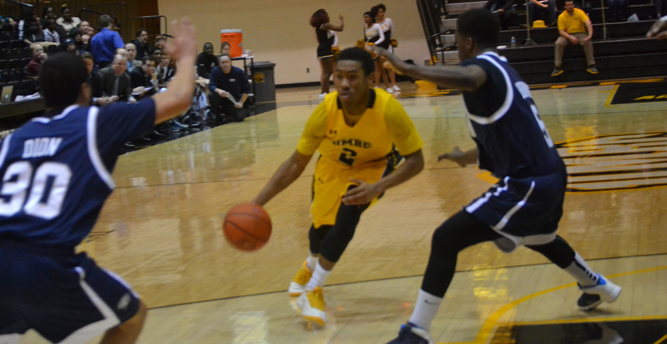 Furious Rally by UMBC Cagers Comes Up Just Short