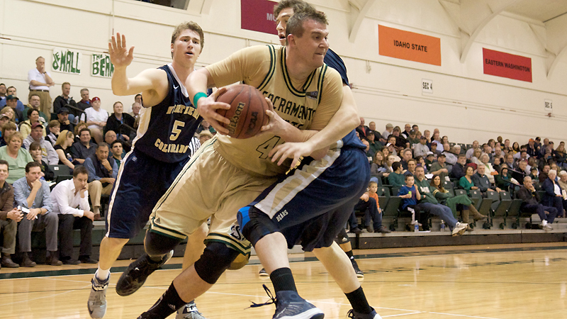 LATE VETETO BASKET GIVES MEN'S BASKETBALL A 51-50 WIN OVER UCSB