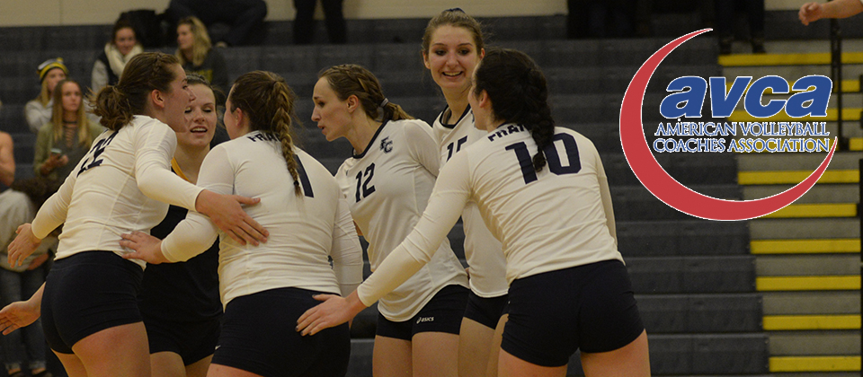 Volleyball Collects AVCA Team Academic Award