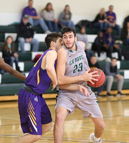 Gators cruise past Houghton men, 92-66