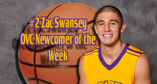 Swansey earns the vote for OVC Newcomer of the Week