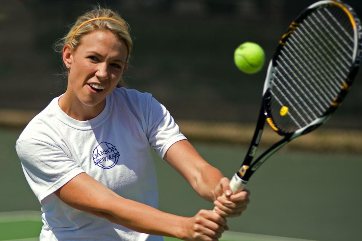 Lady Eagles Fall to Fifth-Seeded Brevard, 6-2, in Food Lion SAC Tennis Tournament