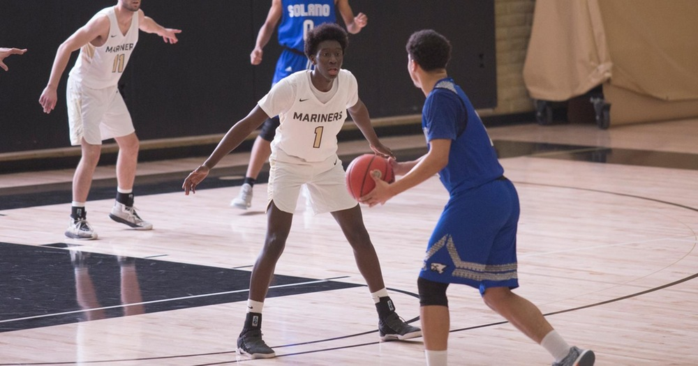 Mariners Men's Basketball Falls in Final Seconds to Napa Valley Storm 60-56