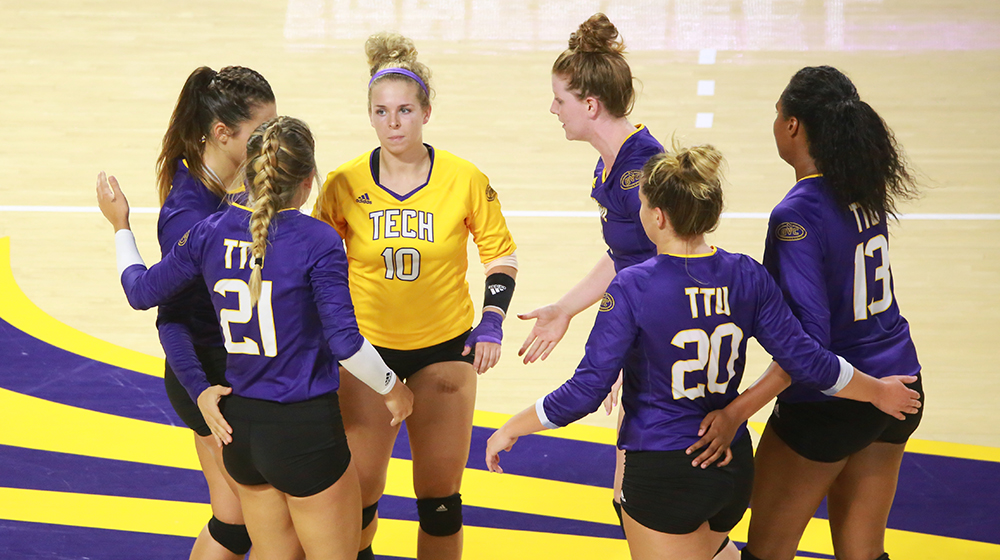 TTU volleyball falls twice on first day of Redhawk Invitational