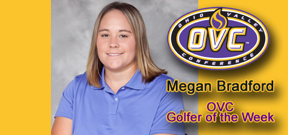 Bradford named OVC Golfer of the Week