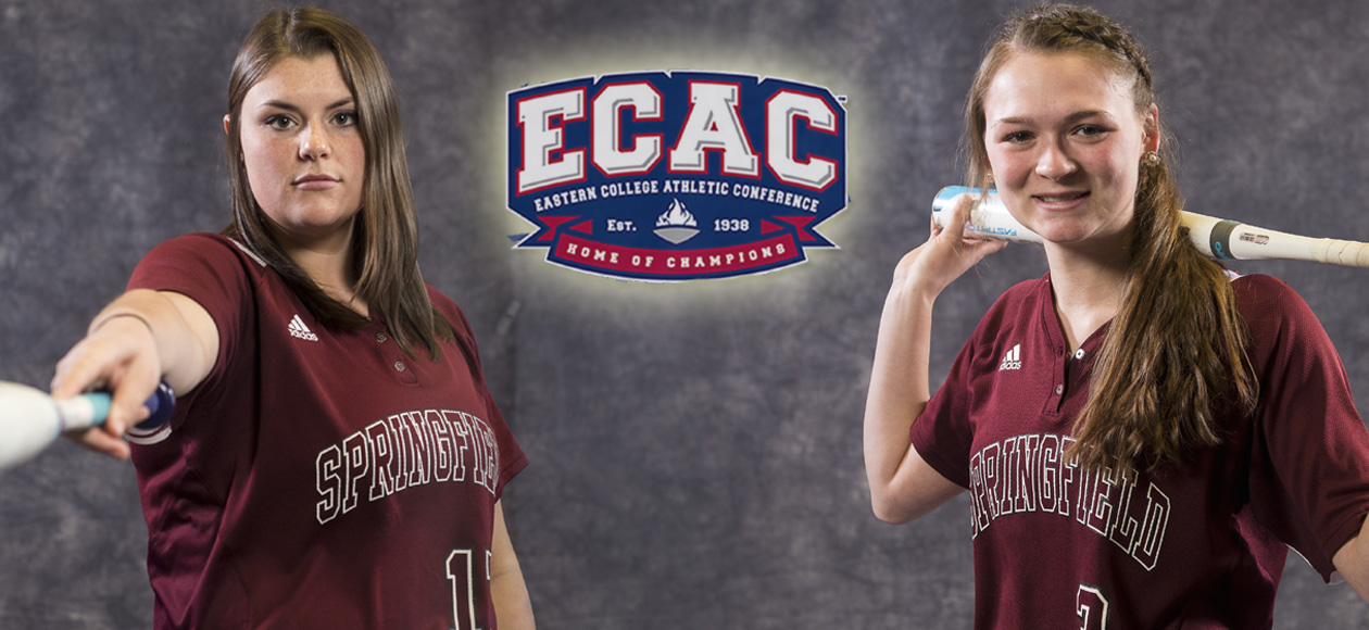 Drobiak and Wheeler Garner ECAC Division III New England Softball Weekly Honors