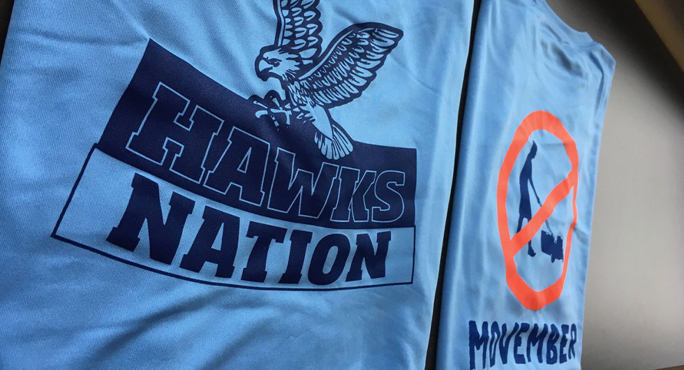 HAWKS TEAM UP TO FIGHT PROSTATE CANCER